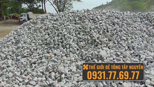 đá xây dựng thế giới bê tông